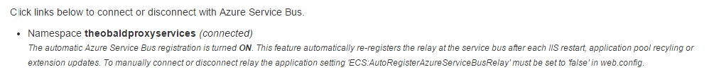 ECS-Core-Azure-Service-Bus-Registration
